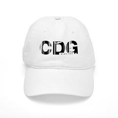 Paris CDG France Airport Code Baseball Cap