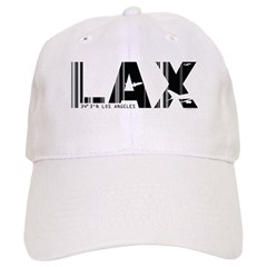 Los Angeles LAX Airport Code Baseball Cap