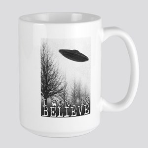 I Want To Believe Large Mug