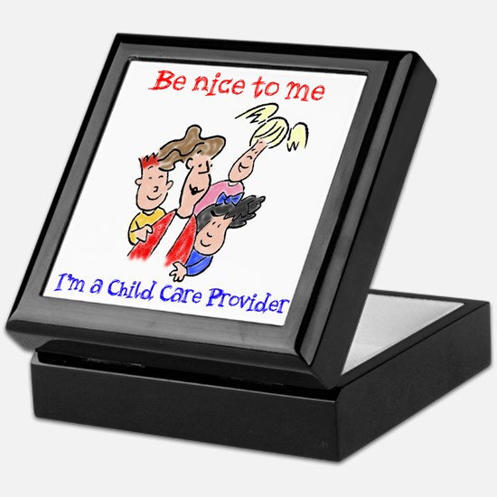 Be Nice to Me Child Care Keepsake Box