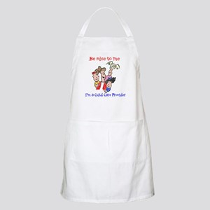 Be Nice to Me Child Care BBQ Apron