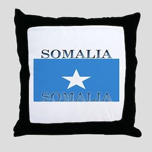 Somalia Somali Flag Throw Pillow