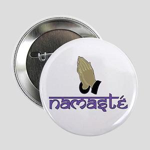 "Namaste purple 2.25"" Button"