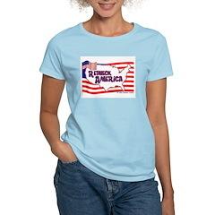 Redneck America Women's Pink T-Shirt