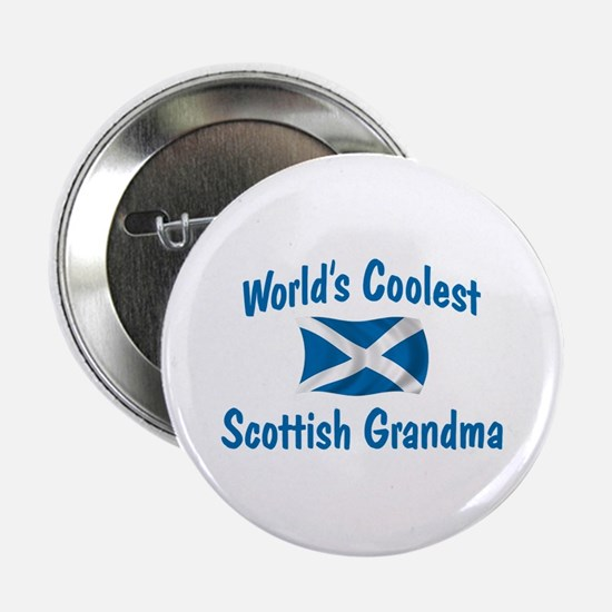 "Coolest Scottish Grandma 2.25"" Button"