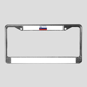 Slovenia License Plate Frame