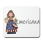 Americana Girl Mousepad