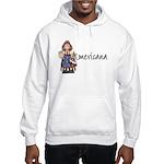 Americana Girl Hooded Sweatshirt