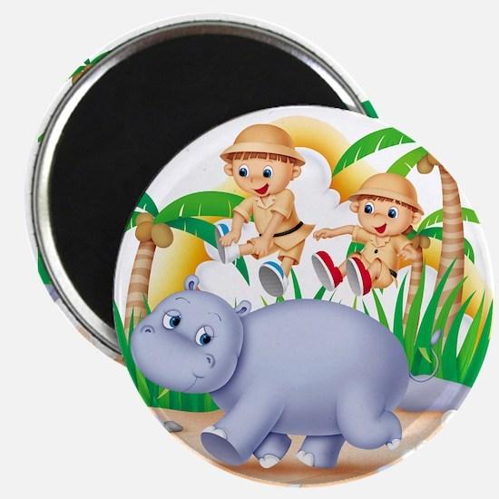 Safari Hippo Magnet