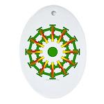 Sparkhenge Oval Ornament