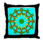 Sparkhenge Throw Pillow