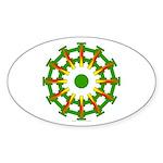 Sparkhenge Oval Sticker
