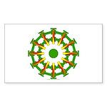 Sparkhenge Rectangle Sticker 50 pk)