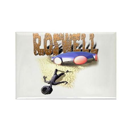 Roswell V3 Rectangle Magnet