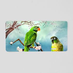 Wonderful, cute parrots, fantasy world Aluminum Li
