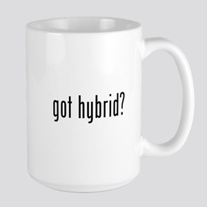 got hybrid? Large Mug