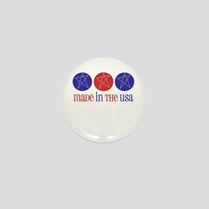 Made in the USA Mini Button