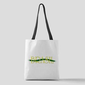 brazil ribon Polyester Tote Bag