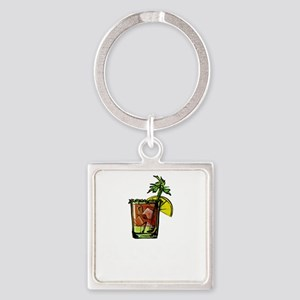 Bloody Mary It's About Bloody Time Keychains