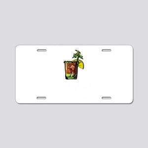 Bloody Mary It's About Aluminum License Plate