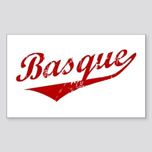 Basque Swoosh Rectangle Sticker