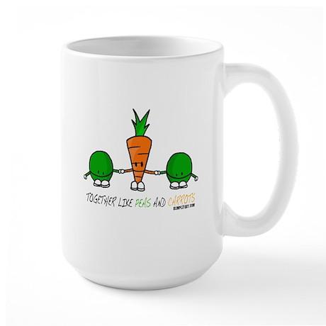 Peas and Carrots Mugs
