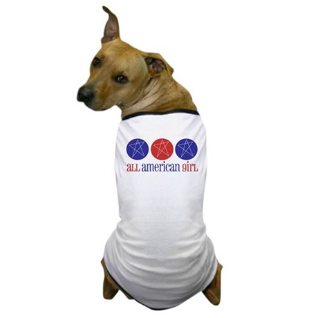 All American Girl Dog T-Shirt