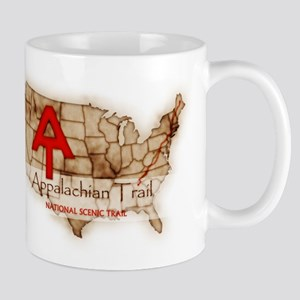 Antique Appalachian Trail Mug