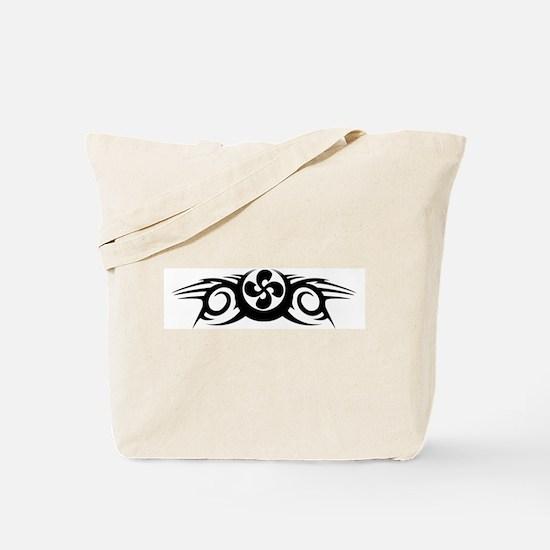 Tribal Lauburu Tote Bag