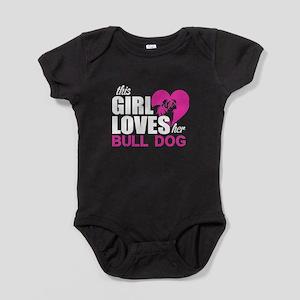 This Girl Love Her Bull Dog T Shirt Body Suit
