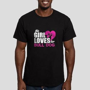 This Girl Love Her Bull Dog T Shirt T-Shirt