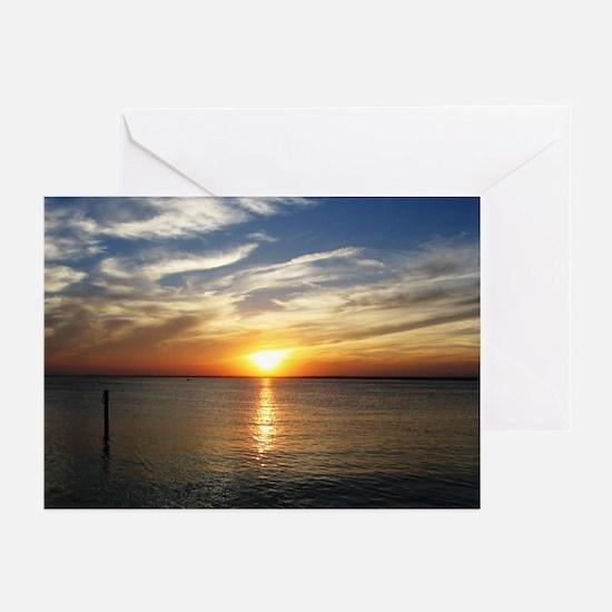 L.B.I. Sunset Greeting Cards (Pk of 10)