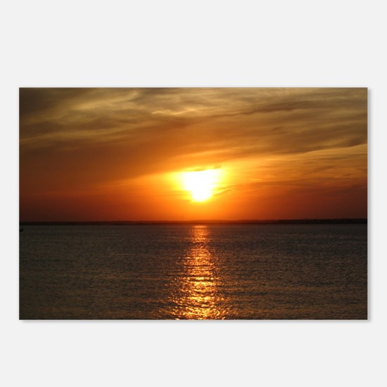 L.B.I. Sunset Postcards (Package of 8)