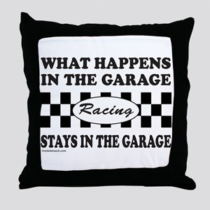 AUTO RACING Throw Pillow