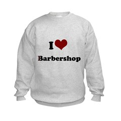 i heart barbershop Sweatshirt
