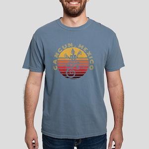 Cancun Mexico Souvenir Sunset & Mayan T-Shirt