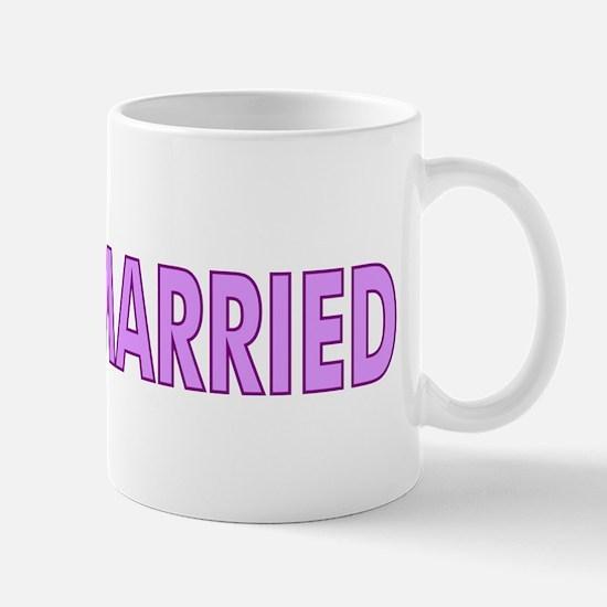Just Married 4 Women Mug