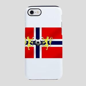 Norwegian Football Flag iPhone 8/7 Tough Case