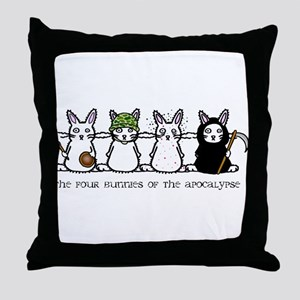 Apocalypse Throw Pillow
