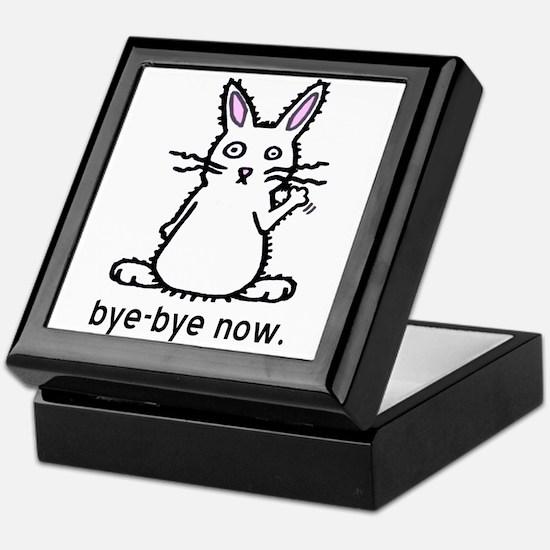Bye-Bye Bunny Keepsake Box