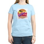 Summer Surf Women's Light T-Shirt