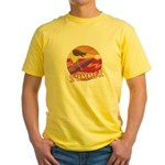 Summer Surf Yellow T-Shirt