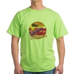 Summer Surf Green T-Shirt