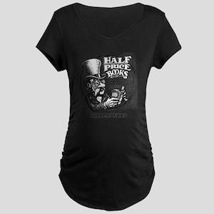 """Half Price Books"" Maternity T-Shirt"