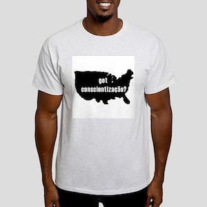 Conscientizacao Ash Grey T-Shirt