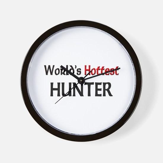 World's Hottest Hunter Wall Clock
