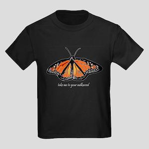 Monarch Butterfly Kids Dark T-Shirt