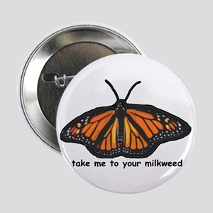 """Monarch Butterfly 2.25"""" Button"""