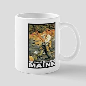 Maine Fishing Mug