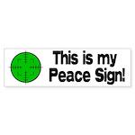 My Peace Sign Bumper Sticker (50 pk)
